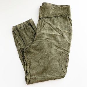Urban Outfitters Staring At Stars Harem Pant Green